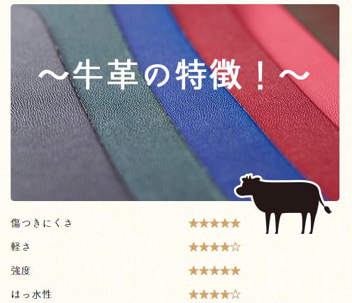 牛革のランドセル